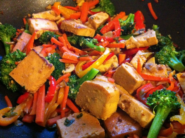Tofu Teriyaki (photo credit: souprootsrants)