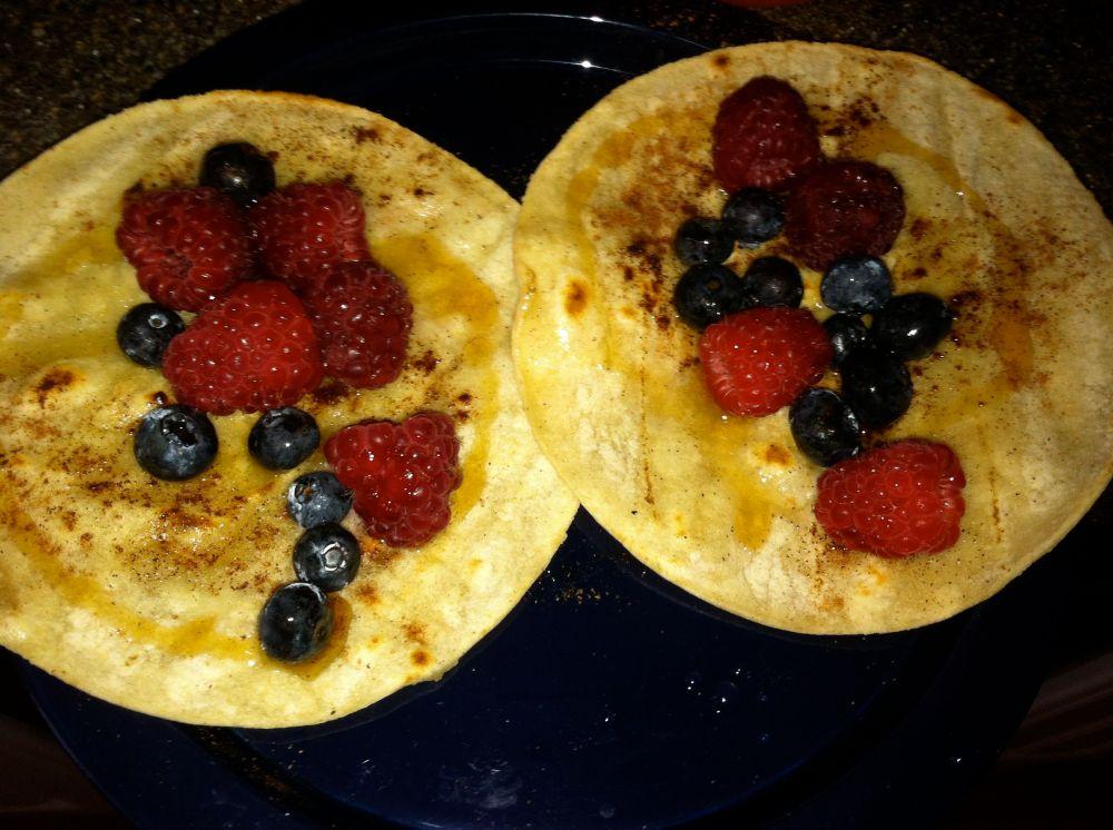 Dessert/Breakfast Tacos