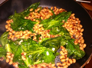 Black-eyed Peas & Collard Greens