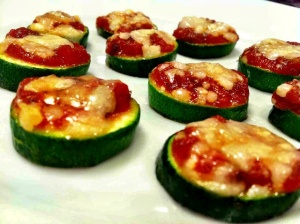 Zucchini Pizza Bites (credit: From Kale with Love)